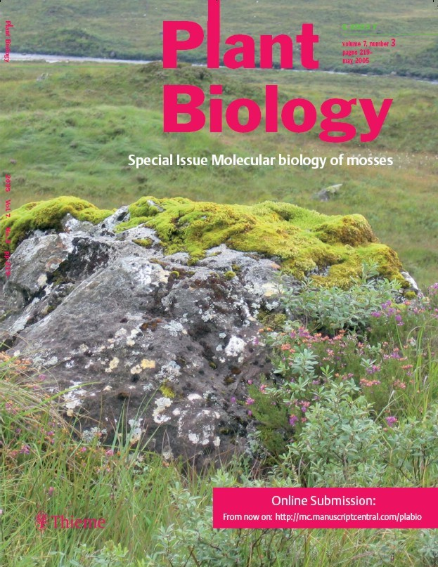 Plant Biology cover